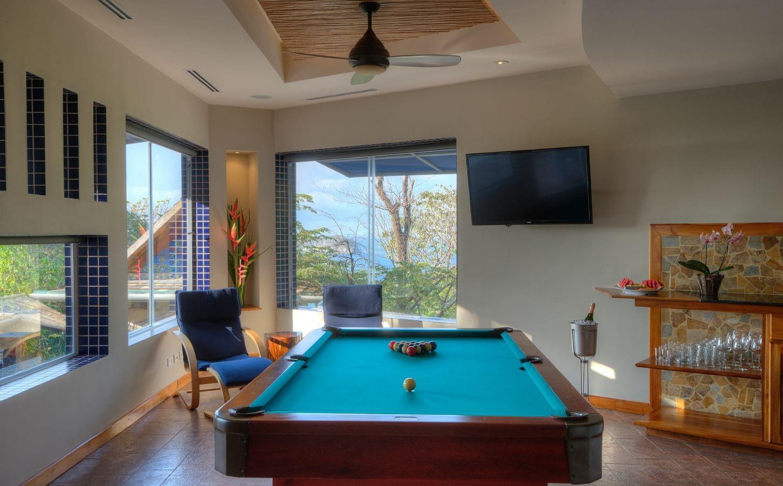 ice room game area private luxury villa