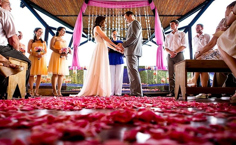 costa rica paradise wedding