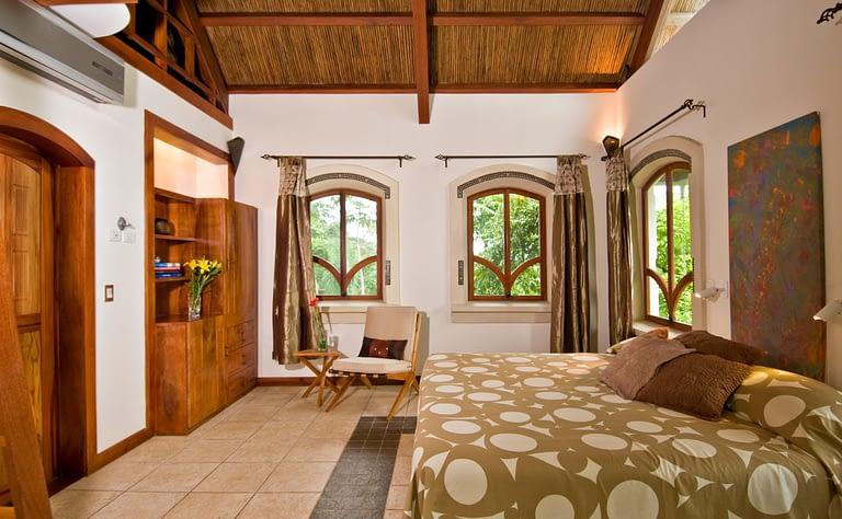 toucan room in villa punto de vista guest cottage