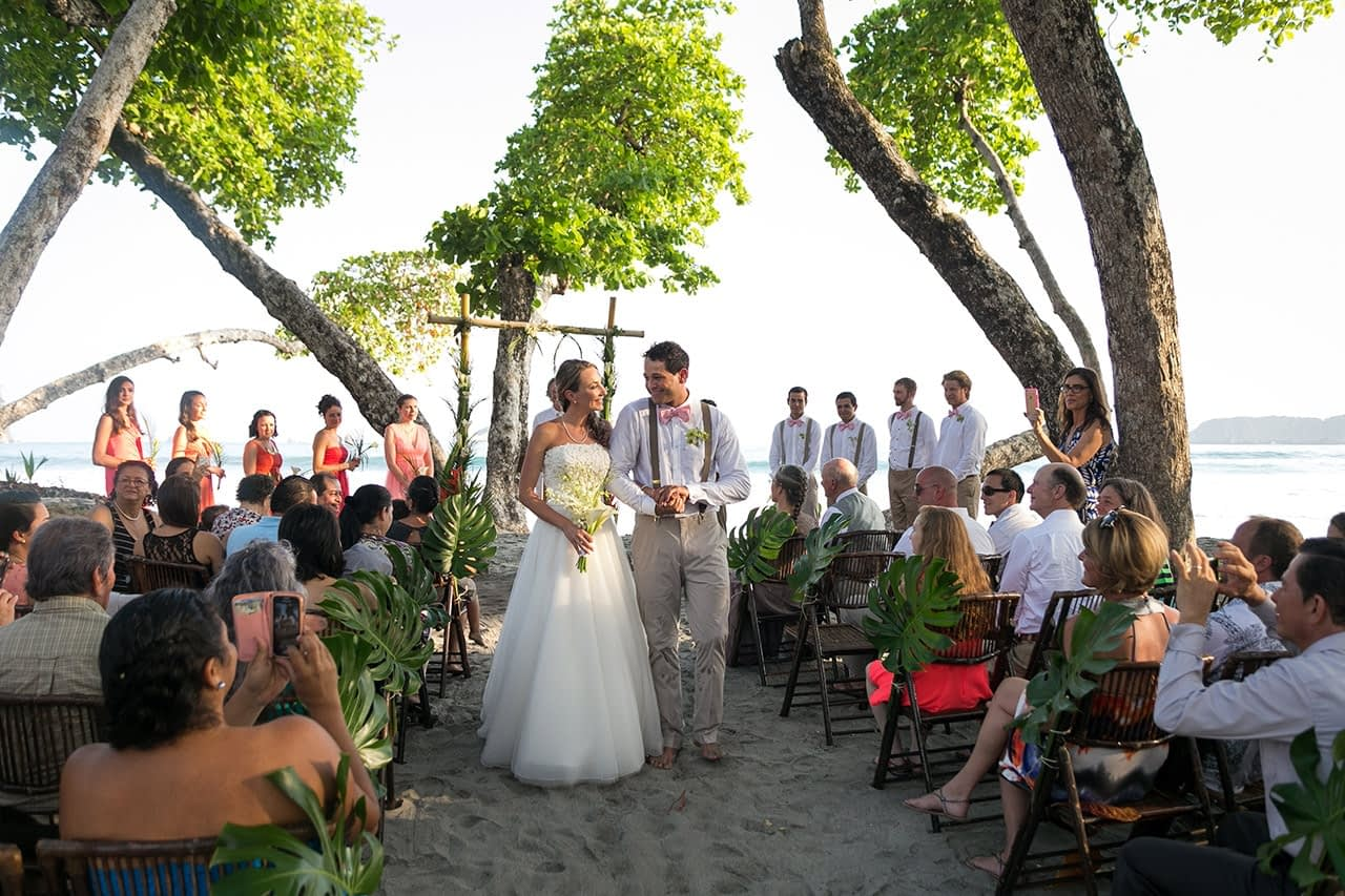 beachfront wedding villa punto de vista