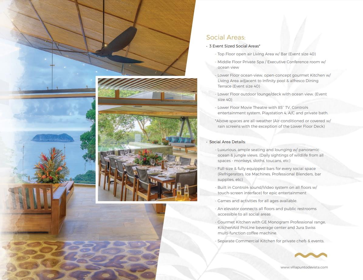 Villa Punto Estate Brochure Page 9