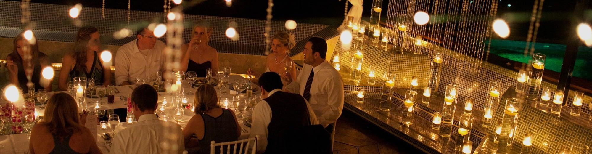 villa punto de vista wedding catering
