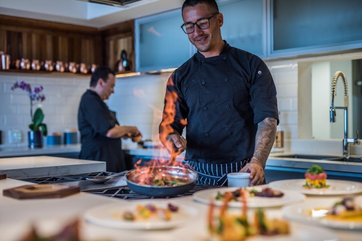 chef services at luxury costa rica villa