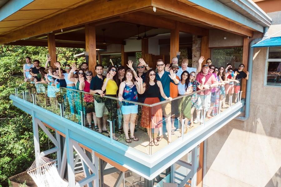 family retreat at villa punto de vista private estate