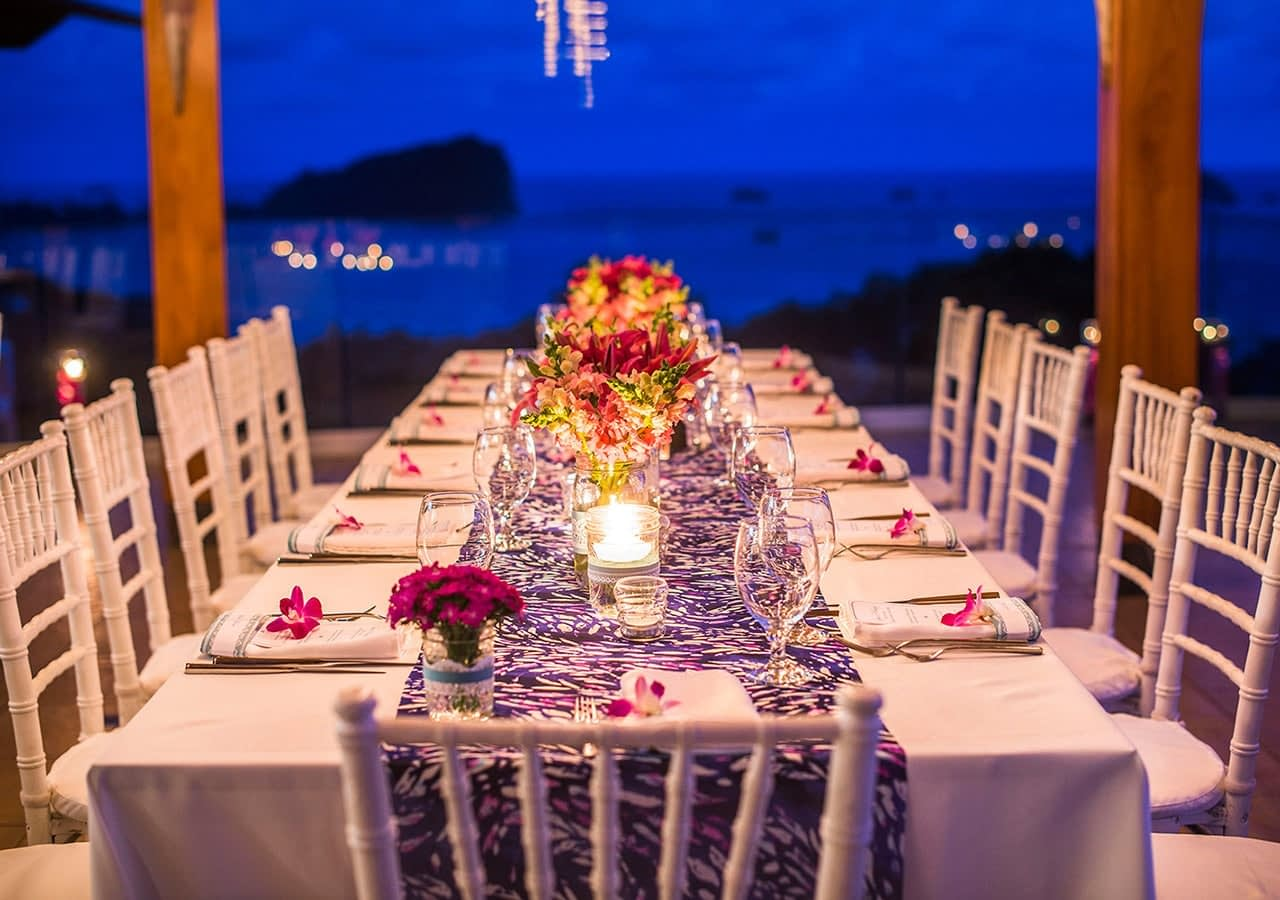 beautiful table settings for wedding
