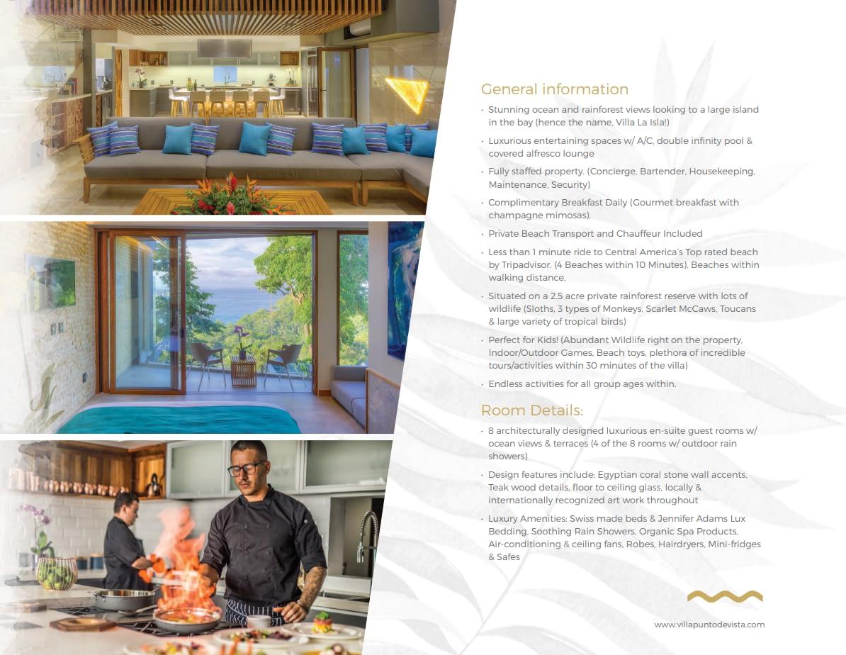 Villa Punto Estate Brochure Page 8