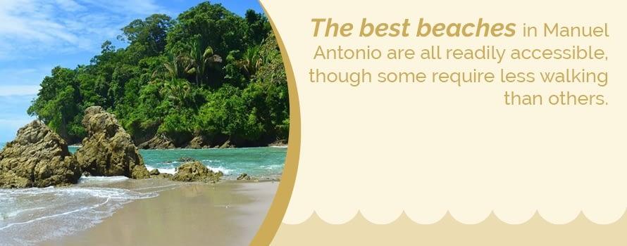 best beaches in manuel antonio