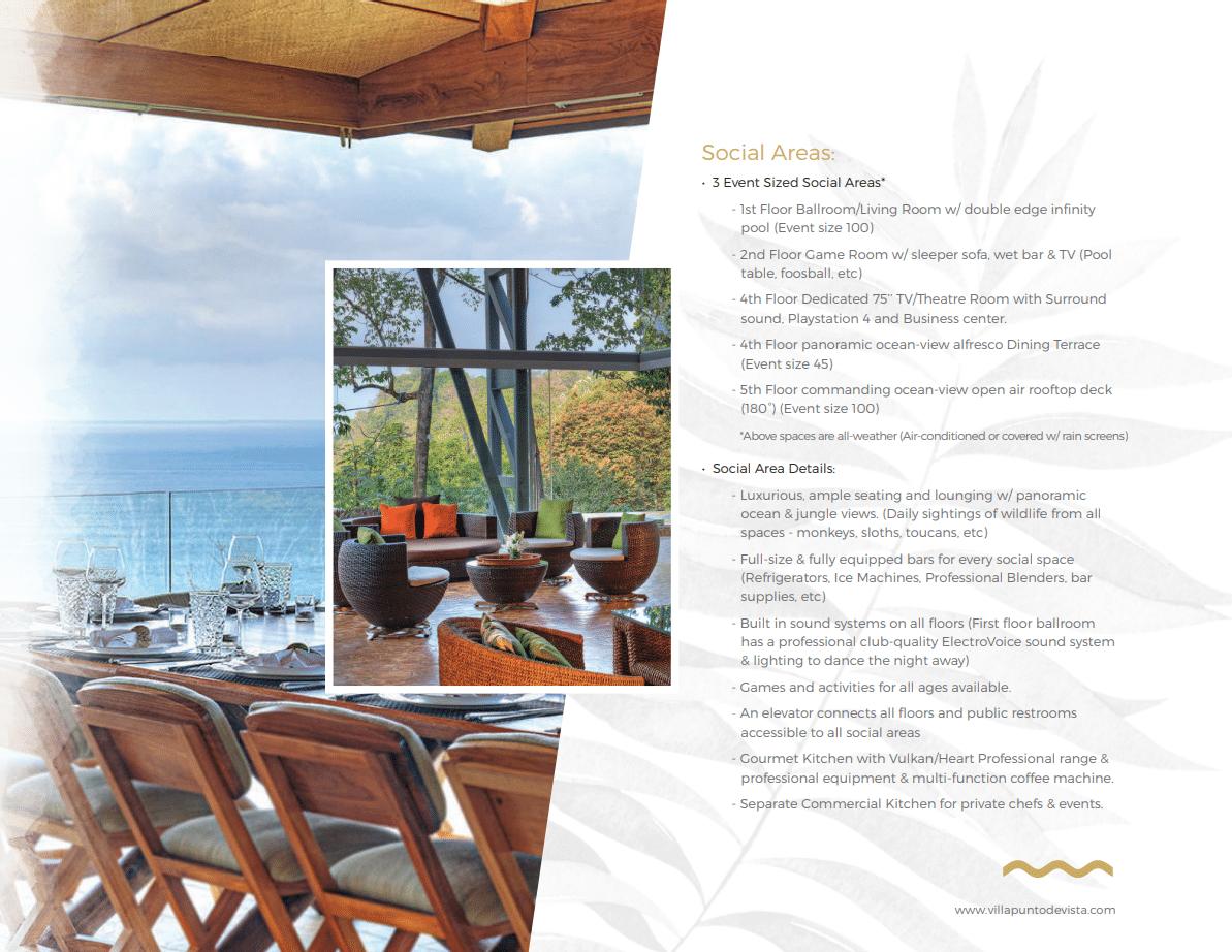 Villa Punto Estate Brochure Page 6