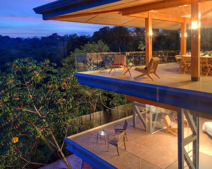 large villa punto de vista balconies