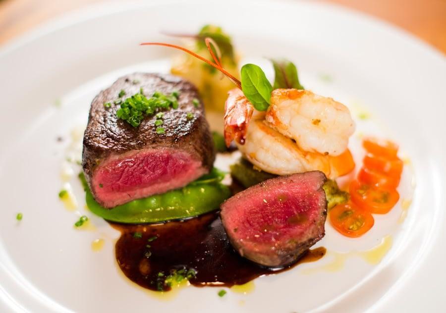 exotic foods prepared by private chefs at villa punto de vista
