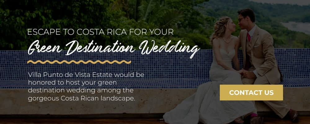 costa rica destination wedding eco friendly