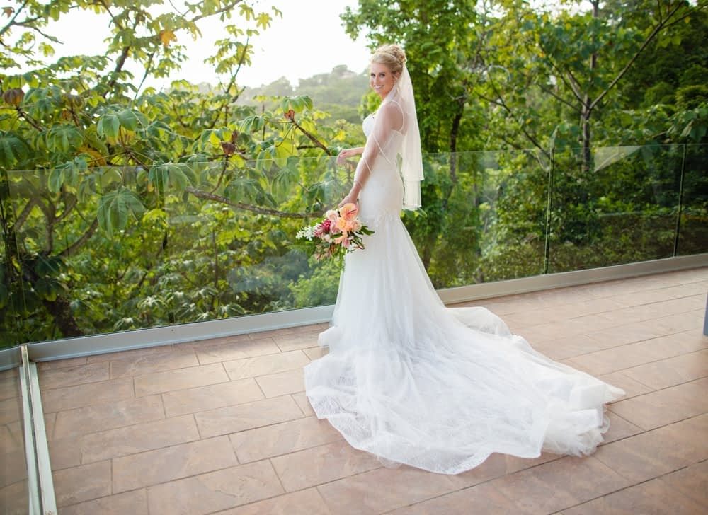 Luxury Destination Wedding in Costa Rica Villa