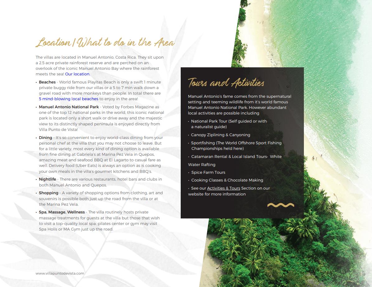 Villa Punto Estate Brochure Page 3