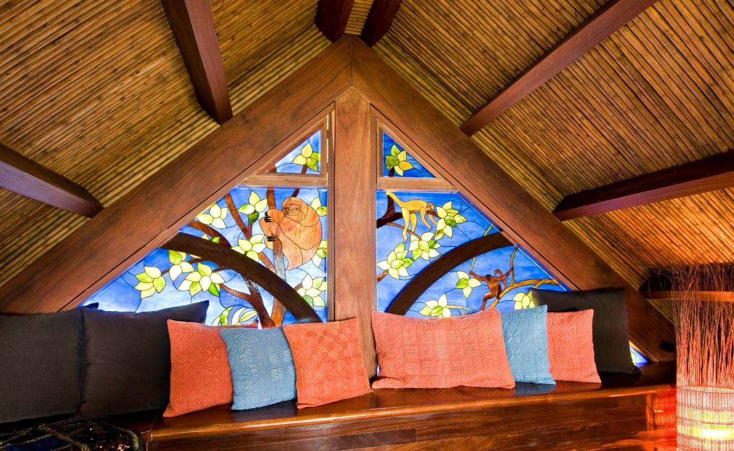 toucan room in guest cottage villa punto de vista