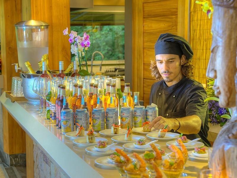 Corporate Retreat Chef at Villa Punto de Vista