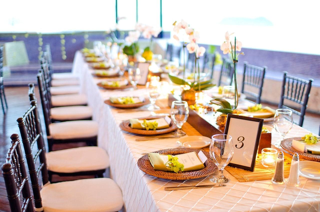 luxury wedding table settings