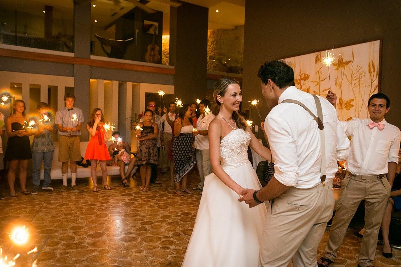 destination wedding at villa punto de vista