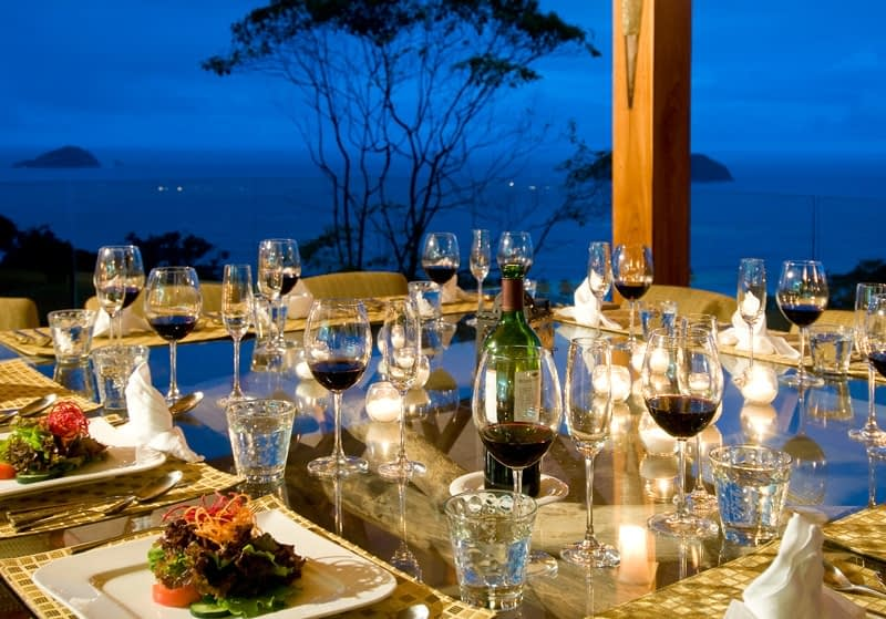 Luxury Corporate Retreat Dining