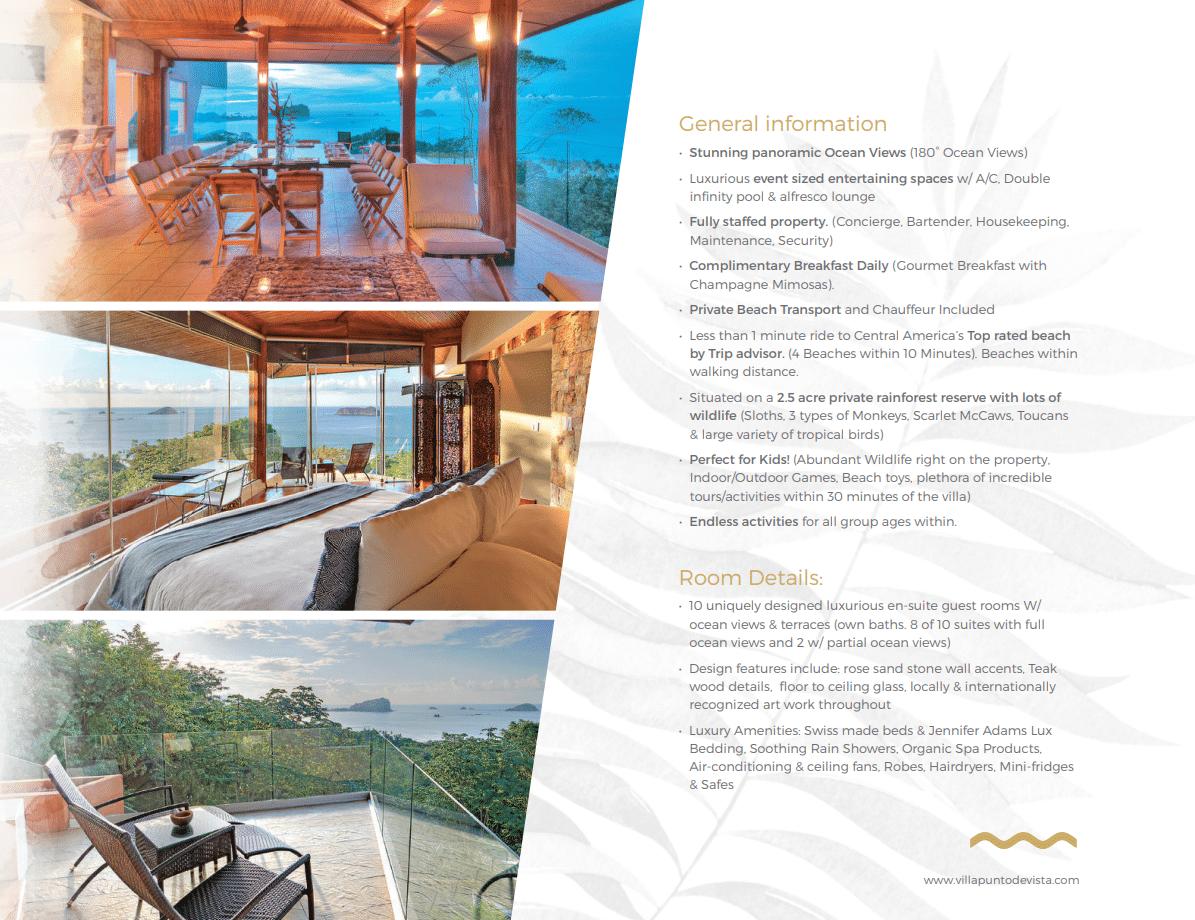 Villa Punto Estate Brochure Page 5