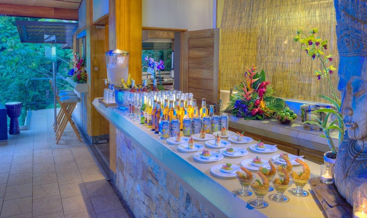 Catering for Private Luxury Retreat