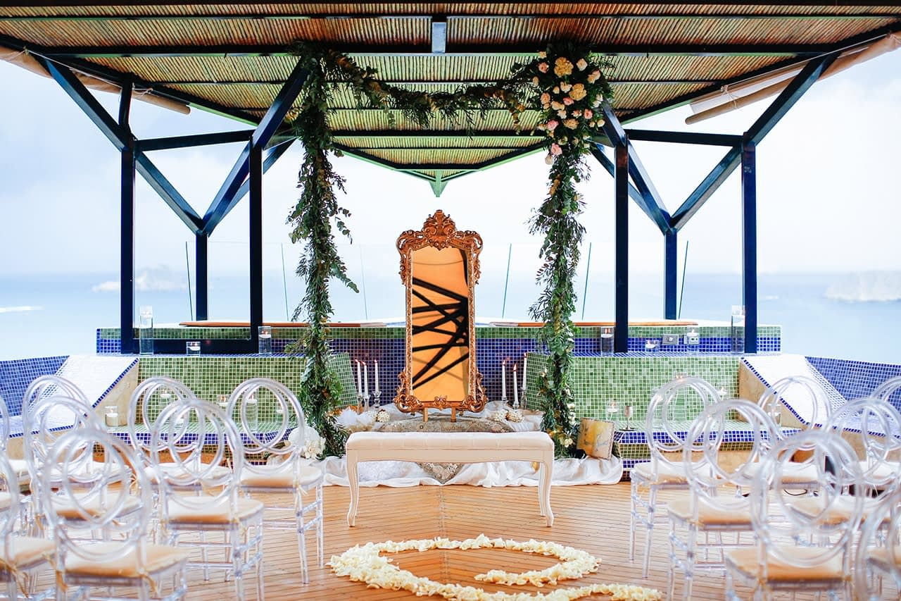 luxury wedding in costa rica villa