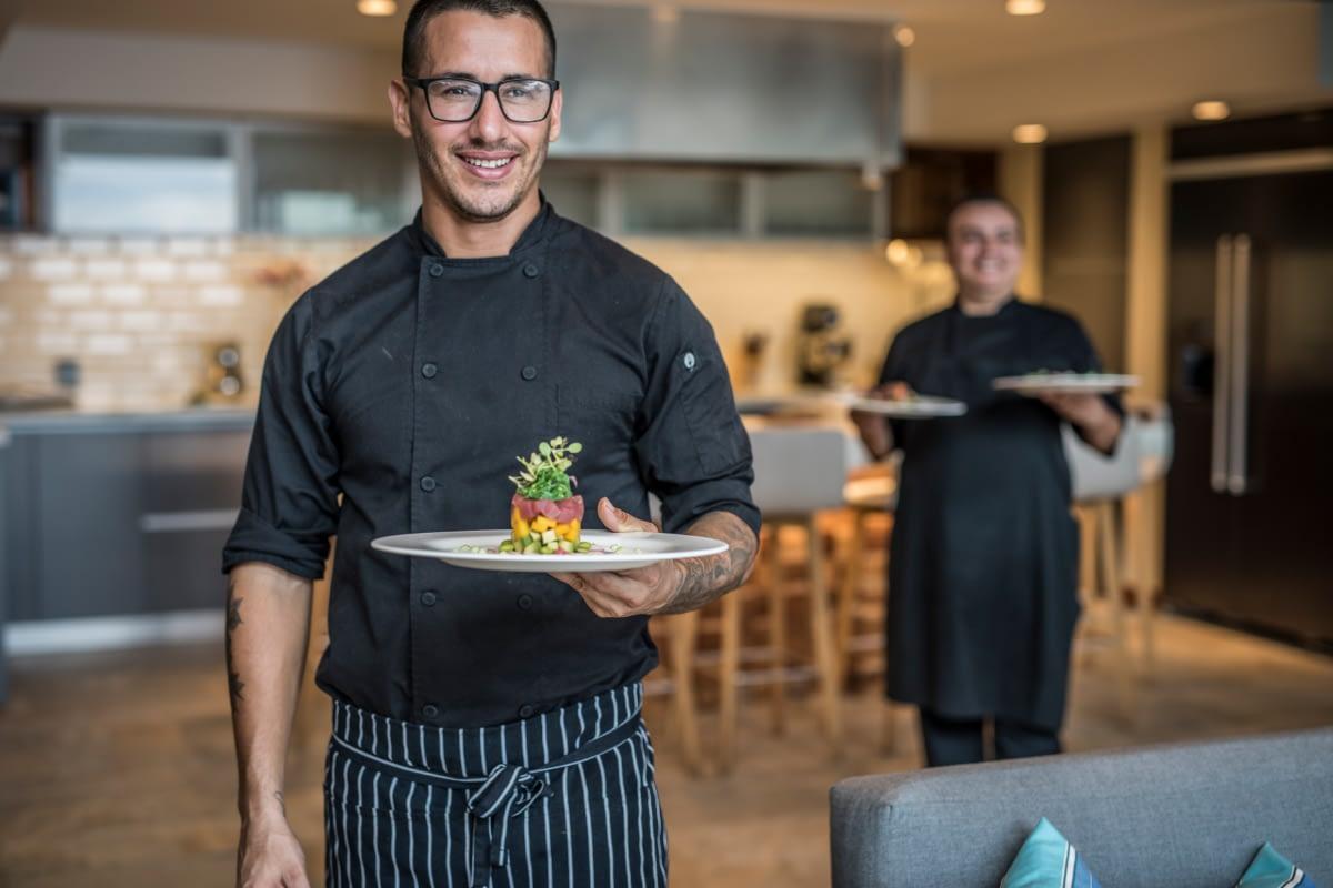villa la isla chef services
